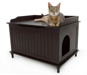 Litter Box Furniture And Other Ideas For Hiding The Cat Mess