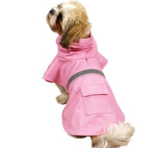 Pink Waterproof Dog Jackets