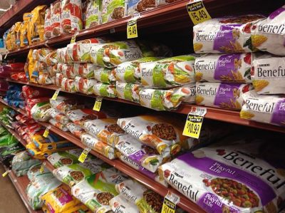 Dog Food At The Store